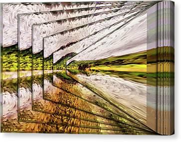 Van Gogh Perspective Canvas Print