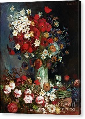 Van Gogh Still Life 1886 Canvas Print by Granger