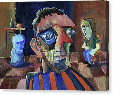 Van Gogh's Therapy Session Canvas Print by Paul  Van Atta