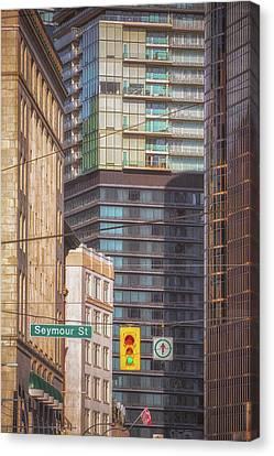 Vancouver Canvas Print - Vancouver Architecture No 1 by Chris Fletcher