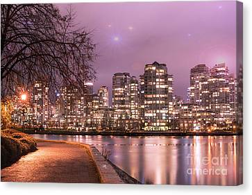 Canvas Print featuring the photograph Vancouver, Canada by Juli Scalzi