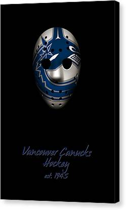 Vancouver Canucks Established Canvas Print by Joe Hamilton