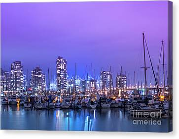 Canvas Print featuring the photograph Vancouver by Juli Scalzi