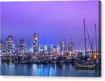 Vancouver Canvas Print by Juli Scalzi