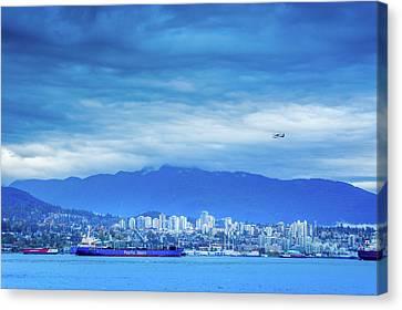 Travel Canvas Print - Vancouver Landscape by Art Spectrum