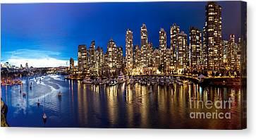 Vancouver Skyline Canvas Print by Rod Jellison