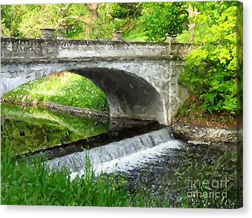 Vanderbilt Bridge Canvas Print by Donna Cavanaugh