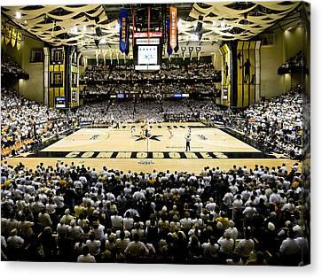 Vanderbilt Commodores Memorial Gym Canvas Print by Replay Photos