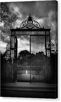 Vanderbilt Gate Canvas Print by Jessica Jenney
