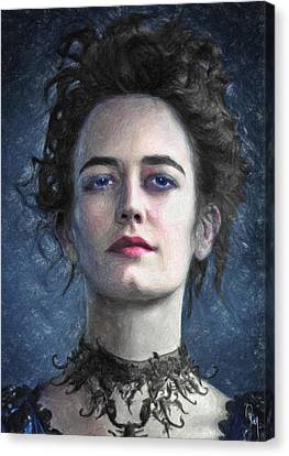 Vanessa Ives Canvas Print by Taylan Apukovska