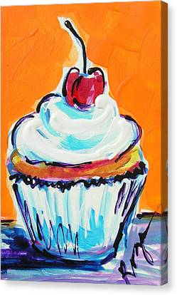 Vanilla Whip Canvas Print
