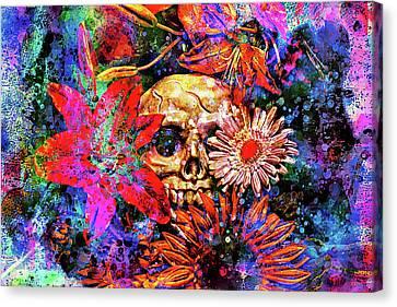 Vanitas Canvas Print by Jeff  Gettis