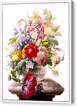 Vanitas Still Life Canvas Print