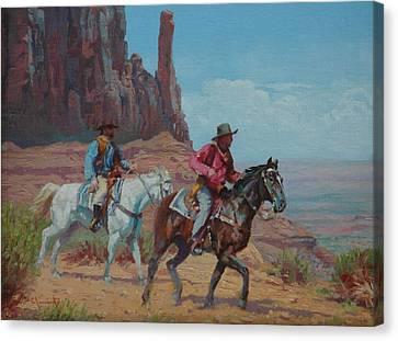 Vantage Point Canvas Print by Jim Clements