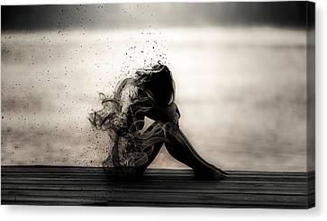 Vapours Of Sadness Canvas Print