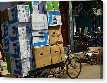 Varanasi. The Computer Age Canvas Print