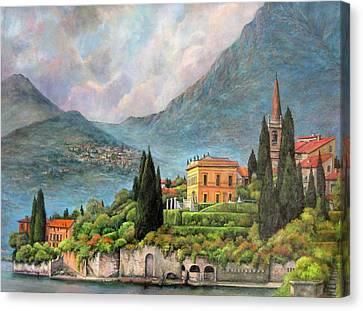 Varenna Italy Canvas Print by Donna Tucker