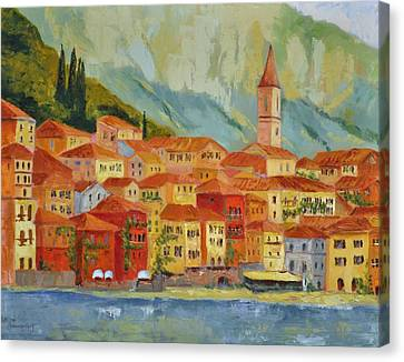 Varenna  Italy Canvas Print by Ginger Concepcion