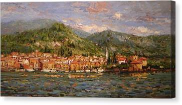 Varenna Italy Canvas Print by R W Goetting