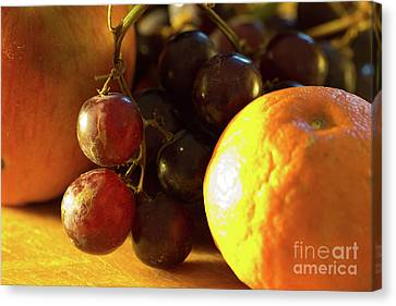 Various Fruit Canvas Print by Brian Roscorla