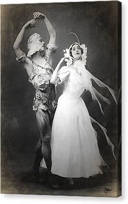 Vaslav Nijinsky Ballet Canvas Print by Joaquin Abella