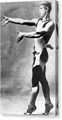 Vaslav Nijinsky, Russian Dancer Canvas Print by Everett