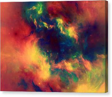 Vast Cosmos Abstract Canvas Print