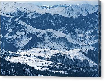 Vast Landscape Canvas Print by Svetlana Sewell