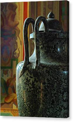 Vatican Ancient Jar Canvas Print by Michael Flood
