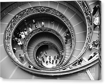 Vatican Bw Canvas Print by Stefano Senise