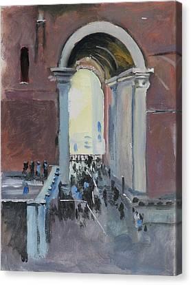 Vatican Canvas Print by Robert Bissett