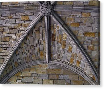 Vaulted Stone Ceiling Canvas Print