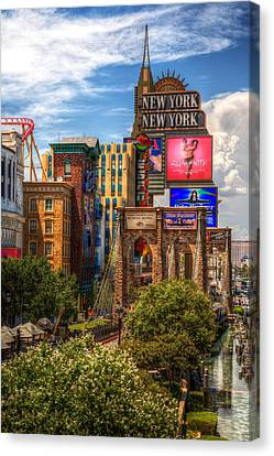 Vegas Baby Canvas Print by James Marvin Phelps