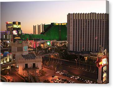 Vegas Dawn Canvas Print