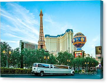 Vegas Vip Canvas Print by Az Jackson