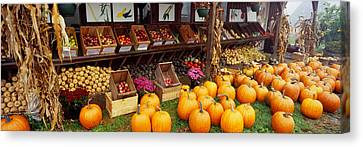 Vegetables In A Market, Grand Rapids Canvas Print