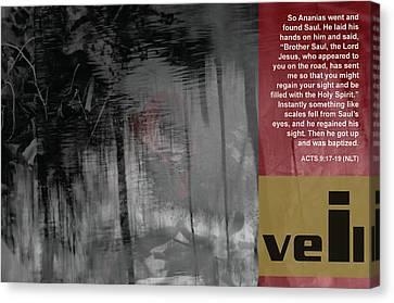 Veil A Canvas Print by Affini Woodley
