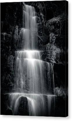 Veil Of Water Canvas Print by Margaret Goodwin