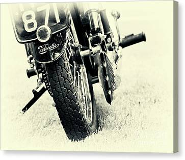 Velocette Abstract Canvas Print