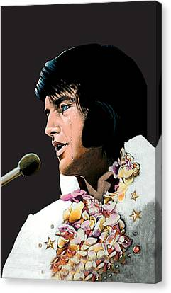 Velvet Elvis Canvas Print