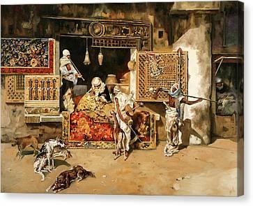 Vendita Di Tappeti Canvas Print