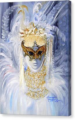 Venetian Beauty Canvas Print