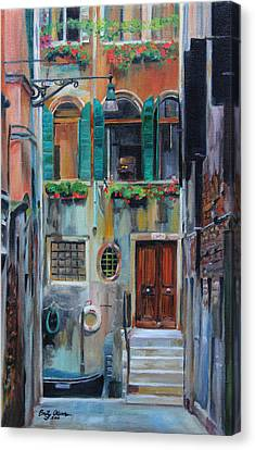 Venetian Colors Canvas Print