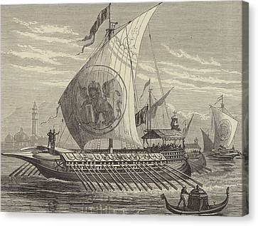 Venetian Galley Canvas Print