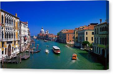 Canvas Print featuring the photograph Venetian Highway by Anne Kotan