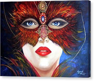 Venetian Tigress Canvas Print