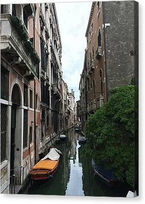 Venezia Beauty Canvas Print by Brianna Culbertson