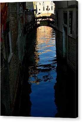 Venice-12 Canvas Print by Valeriy Mavlo