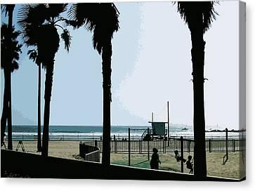 Venice Beach California Canvas Print