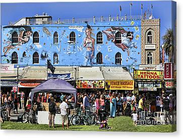 Venice Beach V Canvas Print by Chuck Kuhn